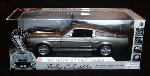 Caixa original da Shelby Collectibles